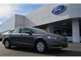 2013 Sterling Gray Metallic Ford Fusion S #75073933