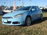 2013 Laguna Blue Dodge Dart Limited #75073798