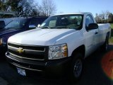 2013 Summit White Chevrolet Silverado 1500 Work Truck Regular Cab 4x4 #75073913