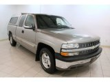 2002 Light Pewter Metallic Chevrolet Silverado 1500 Extended Cab #75074255