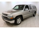 Light Pewter Metallic Chevrolet Silverado 1500 in 2002