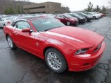 2013 Race Red Ford Mustang V6 Premium Convertible #75073888