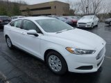2013 Oxford White Ford Fusion S #75073884