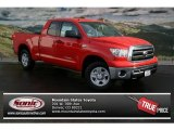 2013 Radiant Red Toyota Tundra Double Cab 4x4 #75073667