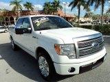2011 White Platinum Metallic Tri-Coat Ford F150 Platinum SuperCrew #75073877