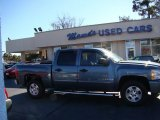 2009 Blue Granite Metallic Chevrolet Silverado 1500 LT Crew Cab #75074110