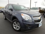 2013 Atlantis Blue Metallic Chevrolet Equinox LT AWD #75074236