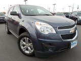 2013 Atlantis Blue Metallic Chevrolet Equinox LS #75074234