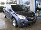 2013 Atlantis Blue Metallic Chevrolet Equinox LT #75123464