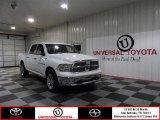2011 Bright White Dodge Ram 1500 Laramie Crew Cab 4x4 #75123263