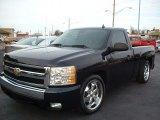 2008 Dark Blue Metallic Chevrolet Silverado 1500 LT Regular Cab #75123411