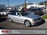 2004 Titanium Silver Metallic BMW 3 Series 325i Convertible #75123311