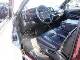 2001 Dodge Ram 2500 SLT Quad Cab 4x4 Agate Interior