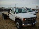 Summit White Chevrolet Silverado 3500 in 2002
