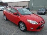 2012 Race Red Ford Focus SEL Sedan #75123258