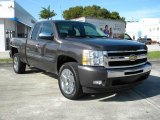 2011 Taupe Gray Metallic Chevrolet Silverado 1500 LT Extended Cab #75123396