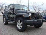 2011 Black Jeep Wrangler Sport 4x4 #75123237