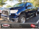 2007 Blue Streak Metallic Toyota Tundra SR5 Double Cab #75123228