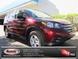 2013 Basque Red Pearl II Honda CR-V LX #75123227