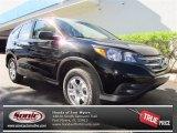 2013 Crystal Black Pearl Honda CR-V LX #75123225