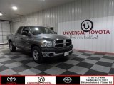 2008 Mineral Gray Metallic Dodge Ram 1500 ST Quad Cab #75123267