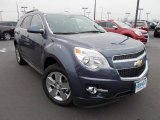 2013 Atlantis Blue Metallic Chevrolet Equinox LT AWD #75141831