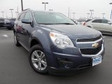 2013 Atlantis Blue Metallic Chevrolet Equinox LT #75141830