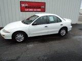 1998 Bright White Chevrolet Cavalier LS Sedan #75145353