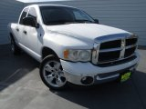 2003 Bright White Dodge Ram 1500 SLT Quad Cab #75145173