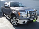 2011 Sterling Grey Metallic Ford F150 Lariat SuperCrew #75145170