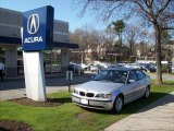 2003 Titanium Silver Metallic BMW 3 Series 325xi Sedan #7485695