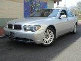 2003 Titanium Silver Metallic BMW 7 Series 745Li Sedan #7511673
