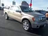 2012 Pale Adobe Metallic Ford F150 XLT SuperCrew 4x4 #75161369