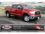 2013 Barcelona Red Metallic Toyota Tundra CrewMax 4x4 #75161351