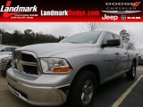 2012 Bright Silver Metallic Dodge Ram 1500 SLT Quad Cab #75168820