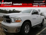 2011 Bright White Dodge Ram 1500 SLT Quad Cab #75168818