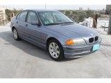 2001 Steel Blue Metallic BMW 3 Series 325i Sedan #75169068