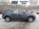 2013 Atlantis Blue Metallic Chevrolet Equinox LS AWD #75168840