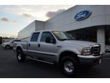 2004 Silver Metallic Ford F250 Super Duty FX4 Crew Cab 4x4 #75168834