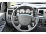 2007 Dodge Ram 1500 SLT Quad Cab 4x4 Steering Wheel