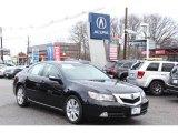 2010 Crystal Black Pearl Acura RL Technology #75194079