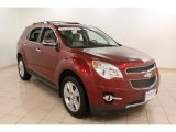 2010 Cardinal Red Metallic Chevrolet Equinox LTZ AWD #75194342