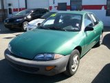 1999 Medium Green Metallic Chevrolet Cavalier Sedan #7511540