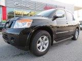2012 Galaxy Black Nissan Armada SV #75194249