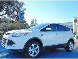 2013 White Platinum Metallic Tri-Coat Ford Escape SE 1.6L EcoBoost #75226524