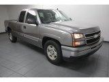 2006 Graystone Metallic Chevrolet Silverado 1500 LT Extended Cab #75226789
