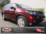 2013 Basque Red Pearl II Honda CR-V EX #75226378