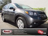 2013 Polished Metal Metallic Honda CR-V EX #75226373