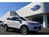 2013 White Platinum Metallic Tri-Coat Ford Escape Titanium 2.0L EcoBoost #75226641