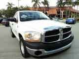 2006 Bright White Dodge Ram 1500 ST Regular Cab #75226505